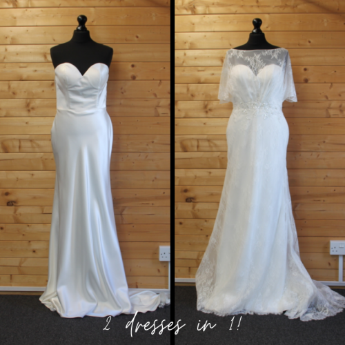 2-in-1 bridal gown