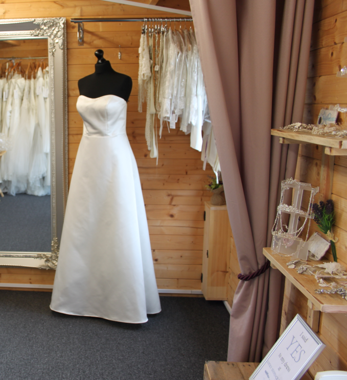 Inside Lucky Sixpence Bridal